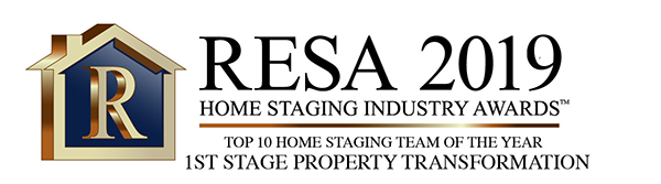 RESA 2019 Top 10 Home Staging Team of the Year